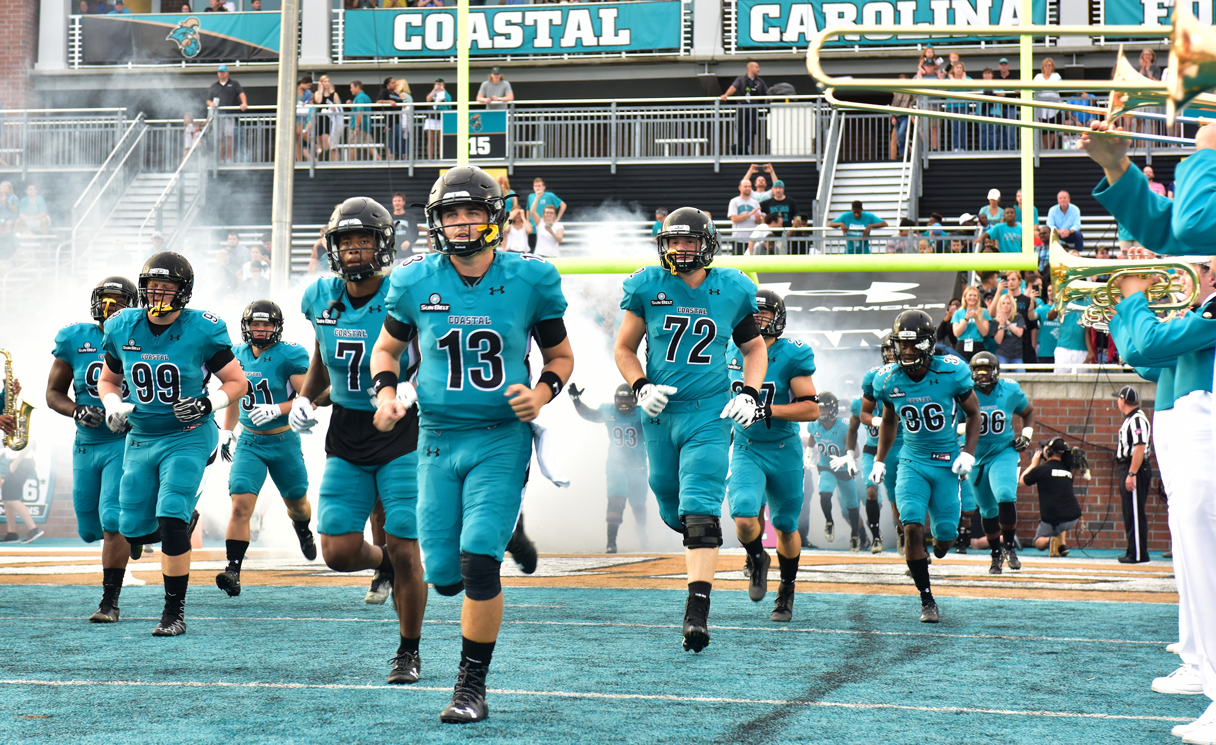 Coastal Carolina Troy Football Kickoff Set For 4 30 Nov 11 Coastal Carolina University Athletics