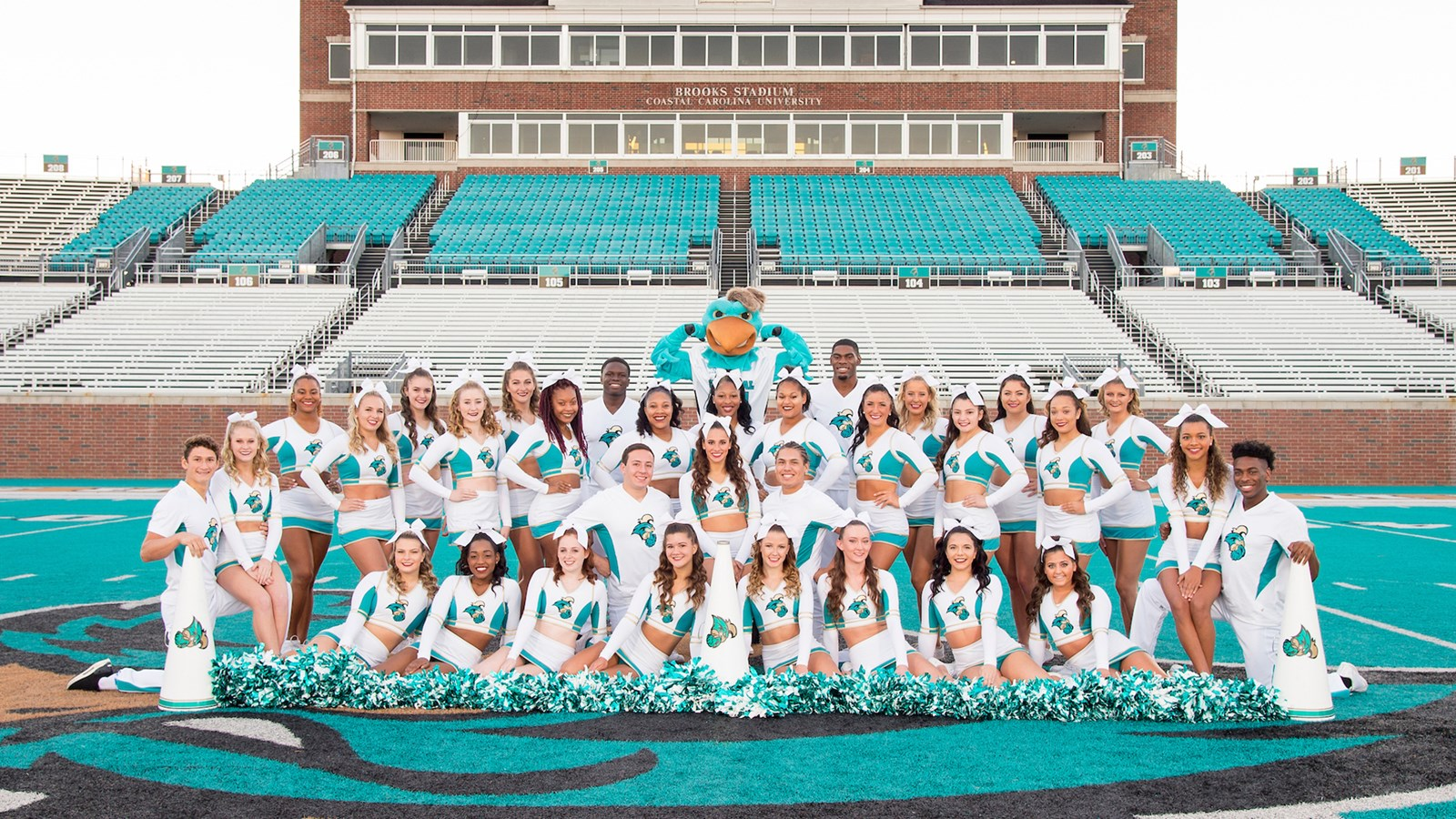 2018 19 Cheerleading Roster Coastal Carolina University Athletics