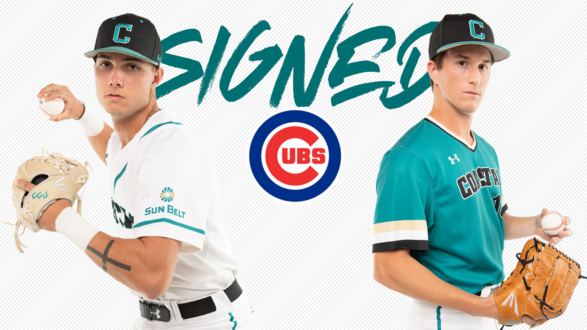 Mckeon And Kobos Both Sign Deals With Chicago Cubs Coastal Carolina University Athletics